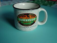 Survivor Camp Fire Mug:  Africa  2001-2002  - Season 3 - New!