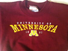 Minnesota Golden Gophers-Unisex Children's Hanes Garnet Sweatshirt - XS (2-4 Mo)