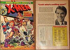 X-MEN 89 1963 SERIES UNCANNY RARE VF- REPRINTS 41 ROY THOMAS SCRIPT