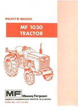 Massey Ferguson Tractor 1030 Parts Manual