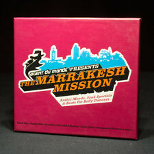Marrakesh Mission - Arabic Moods, Souk Specials, Belly Dancer Beats music cd X 2