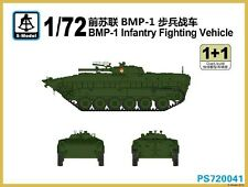 S-model 1/72 PS720041 Russian BMP-1 Infantry Fighting Vehicle (1+1)