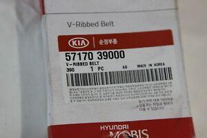 5717039000 KIA/HYUNDAI MOBIS New Genuine V-RIBBED BELT