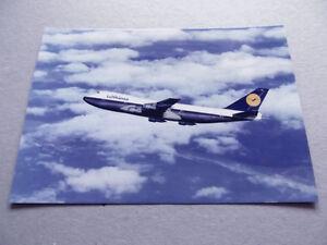 Postcard (DT36) - Lufthansa B747 D-ABYA Test flight - Feb 1970