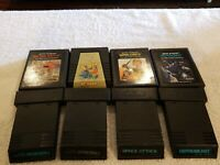 LOT OF 8 ATARI 2600 UNTESTED CARTRIDGES QBERT WARLORDS BASEBALL SPACE ATTACK