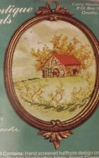 """NIP SEALED CATHY ANTIQUE OVALS """"MILL HOUSE"""" #K656 EMBROIDERY KIT"""