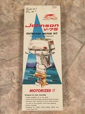 JOHNSON V-75 MOTOR KIT FLEET LINE 813K-200 TOY MODEL COLLECTIBLE RARE OUTBOARD