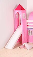 Pink & Red Tower for Childs Midsleeper Bed or Bunk Bed