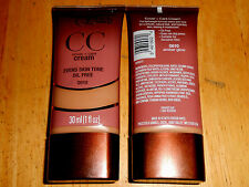 1 tube COVERGIRL QUEEN COLLECTION COVER + CARE CC CREAM oil free Q610 AMBER GLOW