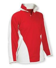 """Falcon Reversible Rugby Shirt Red/White 34-36"""" School Rugby Shirt"""