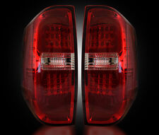 Recon Smoked LED Tail Lights Toyota Tundra 2014-2016 264288RD