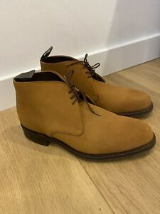NEW Men's CHEANEY Jackie 111 Suede Lace Up Chukka Boots UK 9 RRP £350