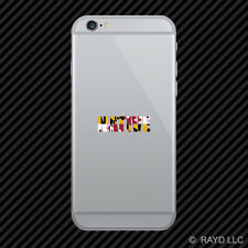 Maryland Native Cell Phone Sticker Mobile MD pride