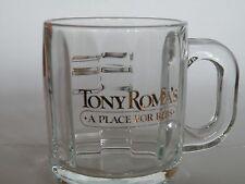 "TONY ROMA'S ""A Place for Ribs"" Glass Mug"