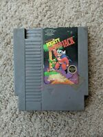 Mighty Bomb Jack Nintendo Nes Cleaned & Tested Authentic
