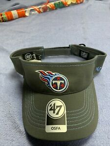 Tennessee Titans NFL 47 Brand Visor Sideline Hat One SIZE OFSA Ryan Tanehill Cap