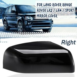 Right Glossy Black Wing Mirror Cover RH For Land Rover Range Rover Sport LR2 LR4