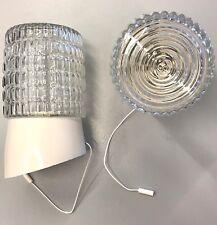 APPLIQUE  VIMAR 3354/CR/B VINTAGE A MURO LAMPADA PARETE CON INTERRUTTORE CORDA