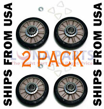 New listing 4 Pack *New* Ap3098345 Dryer Drum Roller Kit Fits Whirlpool Kenmore Sears Roper