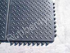 Cheapest CHECKER Gym rubber garage workshop professional gym floor tiles mats
