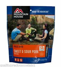 1 - Mountain House Freeze Dried Food Pouch - Sweat & Sour Pork with Rice