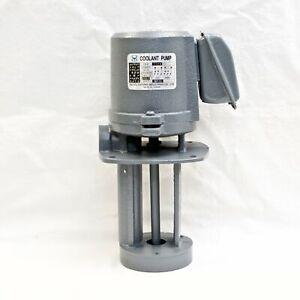 "1/8 HP Machinery Coolant Pump, 220V/440V, 3PH, Shaft Length 5"" (130mm) YC"