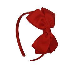 Cute 2016 Hairband Girl Hair Hoop Kids Headbands Bow Hair Accessories Pink Red