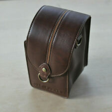 Olympus PEN ~ Carrying Case ~ Micro 4/3 ~ EP 1 2 EPL ~ Brown ~ NO STRAPS