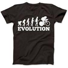 Herren-T-Shirts aus Baumwolle mit Biker in Größe XL