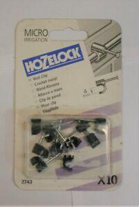 HOZELOCK MICRO IRRIGATION WALL CLIP 4MM X10 (2743)