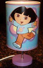 Dora The Explorer ChildsTable Lamp With Light Bulb
