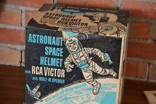 Astronaut Space Helmet in Original Box + RCA 3 record album 45 rpm