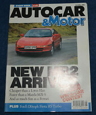 April Autocar Weekly Magazines