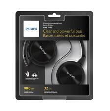 Cascos Philips Negro SHL3060 3.5mm 1000mW Diadema Cerrado Auriculares Musica MP3