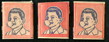 1937 BELGA MAGIC GUM Unopened Wax Pack Lot (3) Very Rare! Gum & Transfer inside