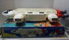 Vintage 1970's Space 1999 Mattel EAGLE 1 SPACE SHIP TOY w/ Box Figures-Excellent