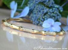 Damen-Armbänder im Armreif-Stil aus Gelbgold mit Diamanten