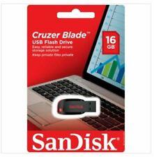 SanDisk Cruzer Blade 16 GB USB Flash Drive Thumb Pen USB Memory Stick
