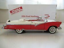 Danbury Mint - 1956 Ford Sunliner Convertible - 1/24 Diecast