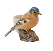 Quail Ceramics - Chaffinch with Egg Cup