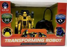 Blue Hat Toys Transforming Robot Radio Controlled Car Yellow