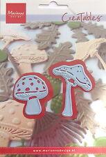 Marianne creatables Die Cut, Mushrooms craft, card making, scrapbooking 0372