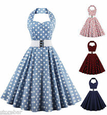 PROMOTION Robe Pin Up Rockabilly Retro Vintage années 50s 60s Swing Robes Dress