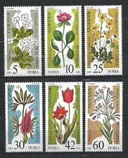 Bulgarien 1989 Blumen Yvert Nr. 3229A à 3229F neuf 1. Auswahl