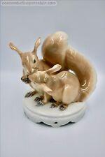 Superb Royal Copenhagen Porcelain figurine Squirrels # 416 Ch Thomsen