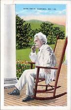Mark Twain, Hannibal, MO - in Rocking Chair