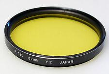 (PRL) FILTRO FTF 67 mm Y2 FILTER FILTRU FILTRE FILTAR PHOTO FOTOGRAFIA B/N B/W