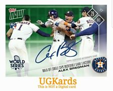 2017 Topps Now 851A # to 199 Autograph Alex Bregman Print Run: 199 UGKards