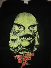 CREATURE BLACK LAGOON .T-Shirt Men's Large