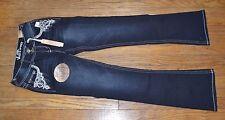 Wallflower Luscious Curvy Kaylee Jeans Bootcut Juniors Dark Denim Jean